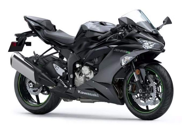 New Kawasaki ZX6R Black