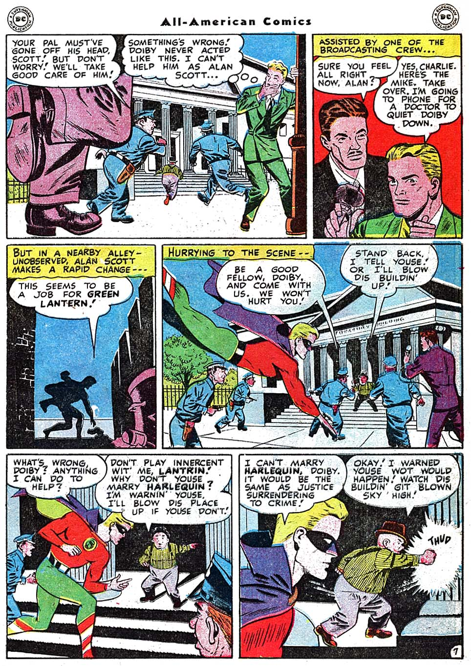 Read online All-American Comics (1939) comic -  Issue #91 - 9
