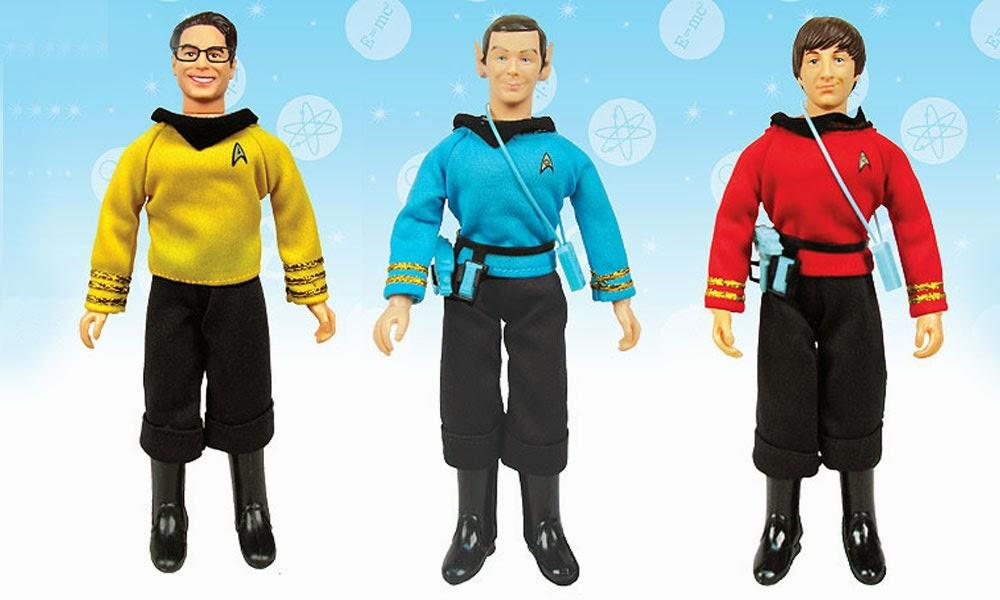"BBP The Big Bang Theory//Star Trek:The Original Series Sheldon as Spock 8/"" Figure"