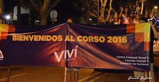 Desfile de Carnaval por la Av. Rivera. Montevideo. Uruguay. 2016.