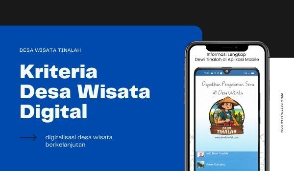 Kriteria Desa Wisata Digital