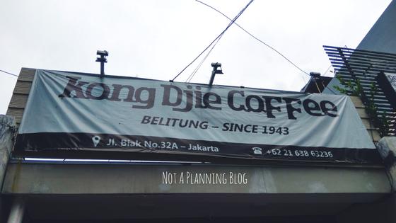 Kedai Kopi Kong Djie Di Jakarta