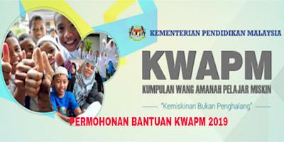 Permohonan KWAPM 2019 Kumpulan Wang Amanah Pelajar Miskin