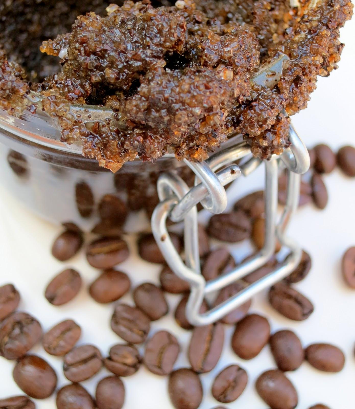 deliciously organized: diy: mornin' coffee scrub