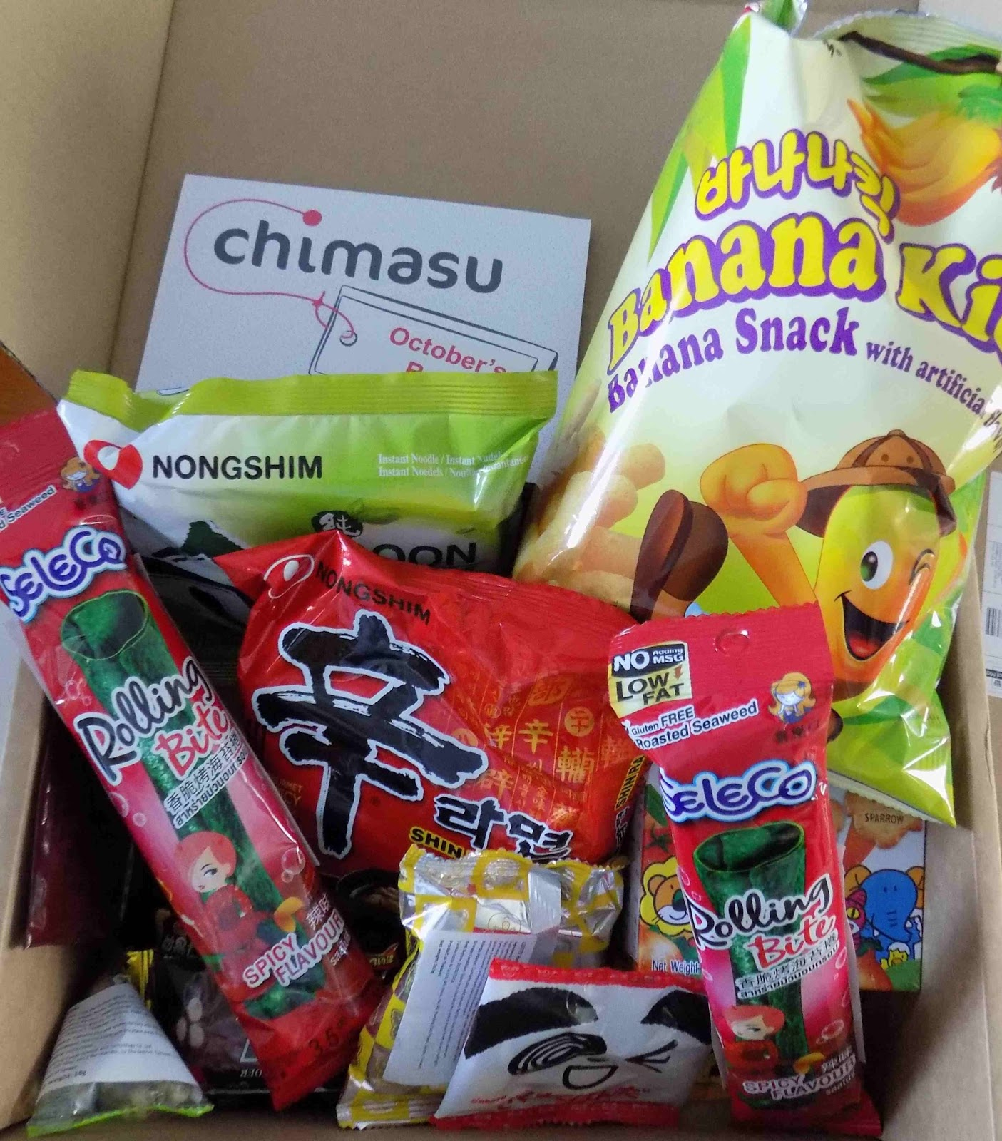 Chimasu Asian snack subscription box review & Madhouse Family Reviews: Chimasu Asian snack subscription box review Aboutintivar.Com