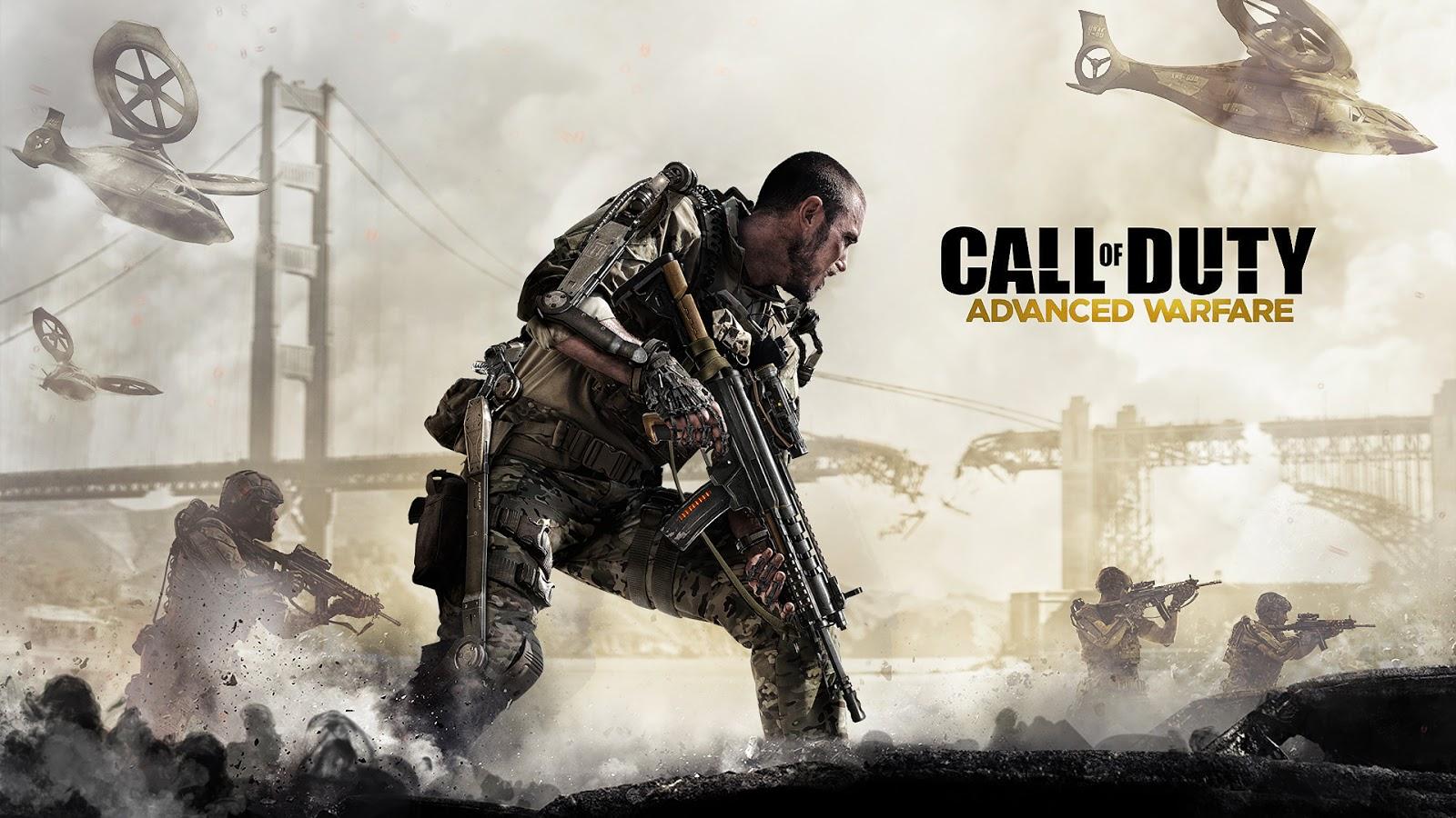 Call Of Duty Advanced Warfare Theme For Windows 7, 8 And