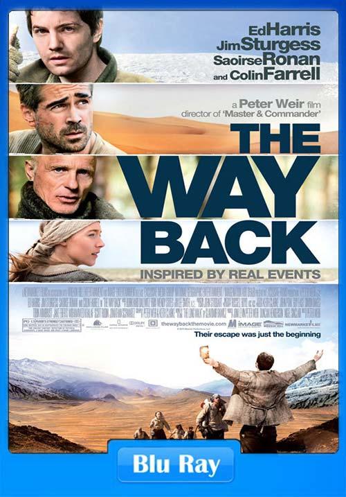 The Way Back 2010 Dual Audio Hindi 720p BluRay x264 | 480p 300MB | 100MB HEVC