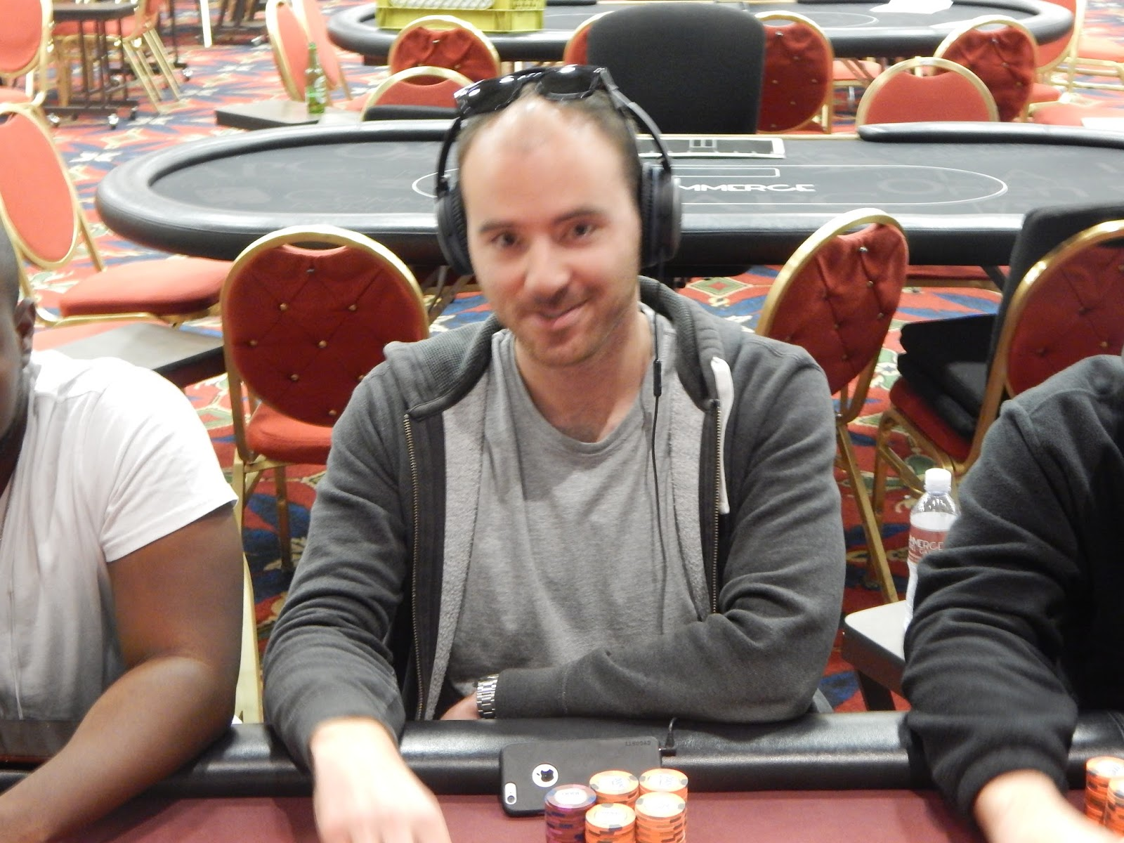 commerce casino tour nts  hunter moss eliminated in 3rd place 11 040