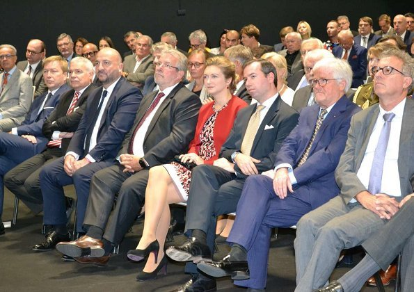 Hereditary Grand Duke Guillaume and Hereditary Grand Duchess Stephanie attended Home and Living Expo 2018