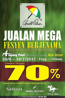 Branded Fashion Warehouse Mega Sale 2017