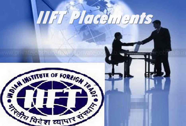 IIFT Placements