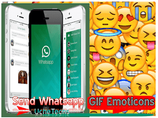 Send Whatsapp GIF Emoticons