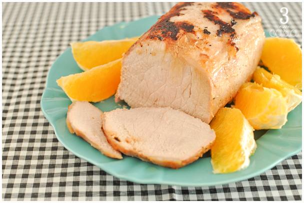 receita de lombo de porco assado com laranja