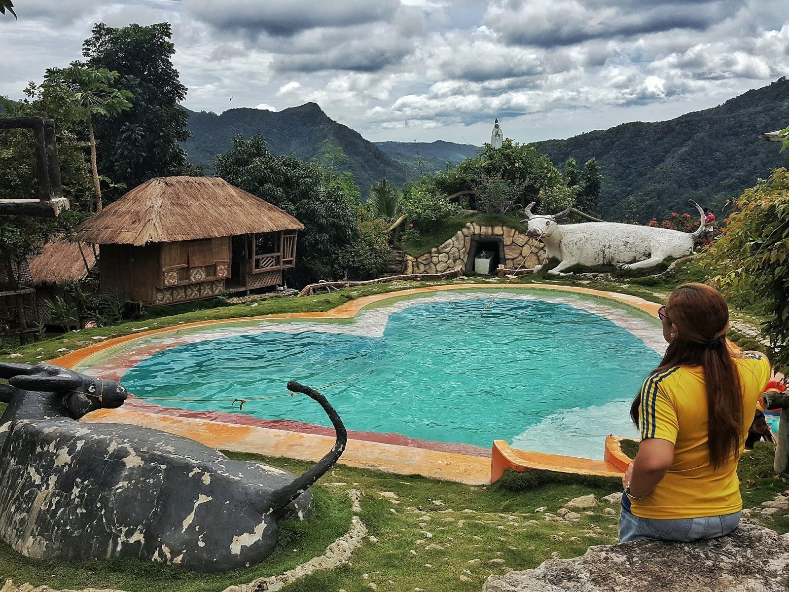 Heart Shaped Pool At Coal Mountain Resort   Argao, Cebu
