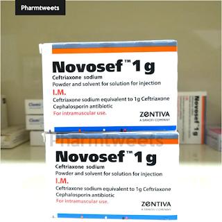دواء نوفوسيف Novosef