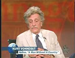 November memory of Kurt Vonnegut