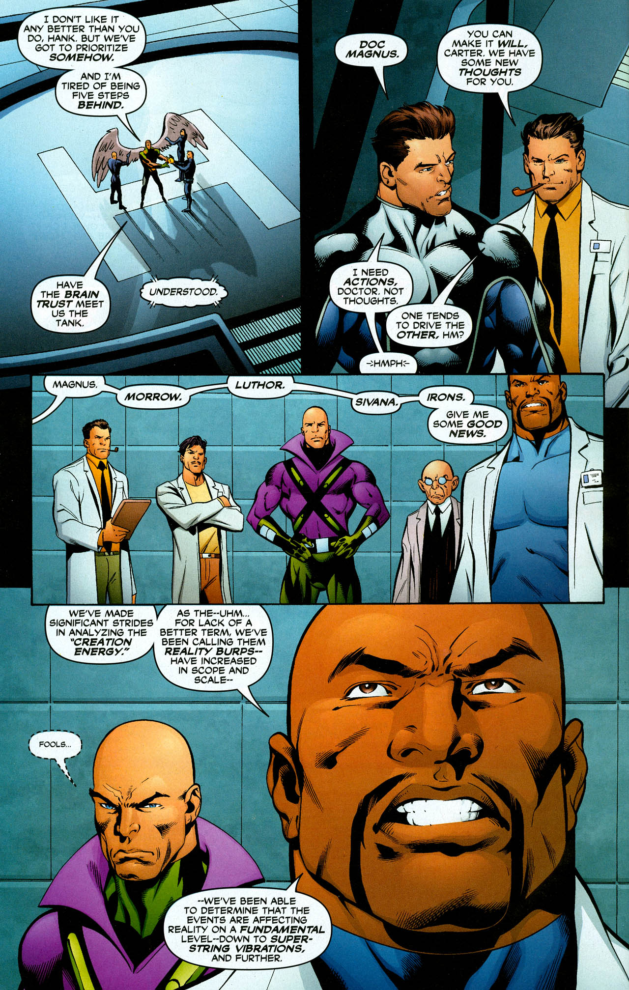 Read online Trinity (2008) comic -  Issue #28 - 28