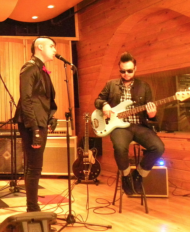 Neon Trees At Tainted Blue Studios