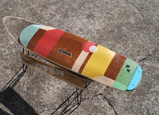 高級ロンスケ ローデットには色も大きさもマッチした6.5インチテールガード