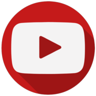 youtube colorful icon