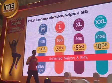 Cara Registrasi Paket Freedom Double Kuota M L XL XXL Indosat Ooredoo