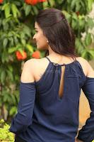 Poojita Super Cute Smile in Blue Top black Trousers at Darsakudu press meet ~ Celebrities Galleries 090.JPG