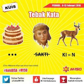 Info Kuis - Kuis #KuisBISA Berhadiah Merchandise dari M-150