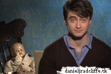 "Daniel Radcliffe: ""Don't forget to join the AMC Theatres The Woman in Black contest"""