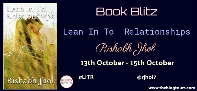 Book Blitz: Lean In To Relationships by Rishabh Jhol