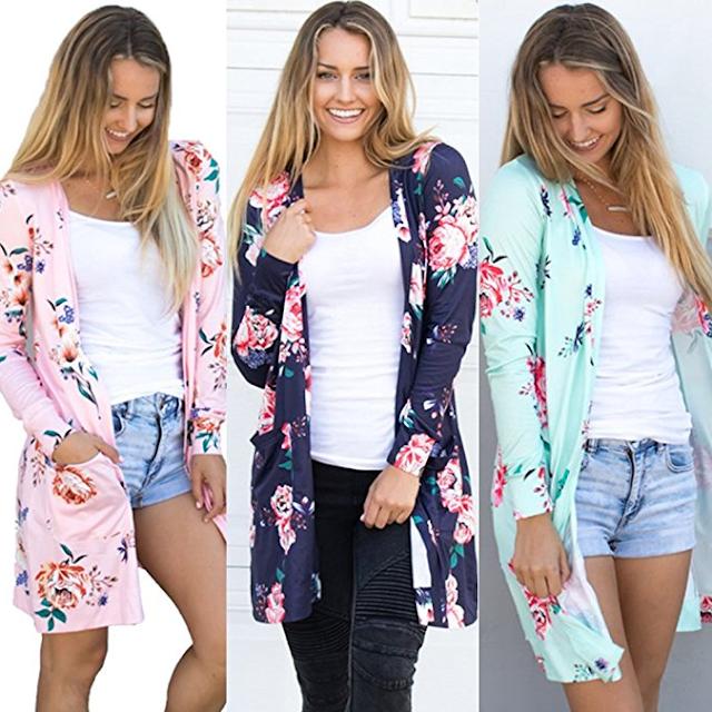 Amazon: Ecowish Kimono only $17!