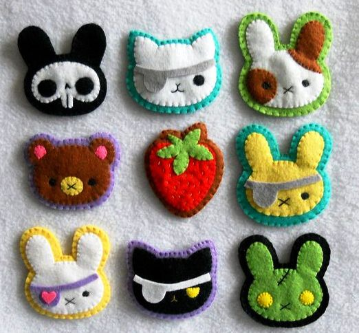 Easy and simple felt craft for kids art craft gift ideas for Felt arts and crafts