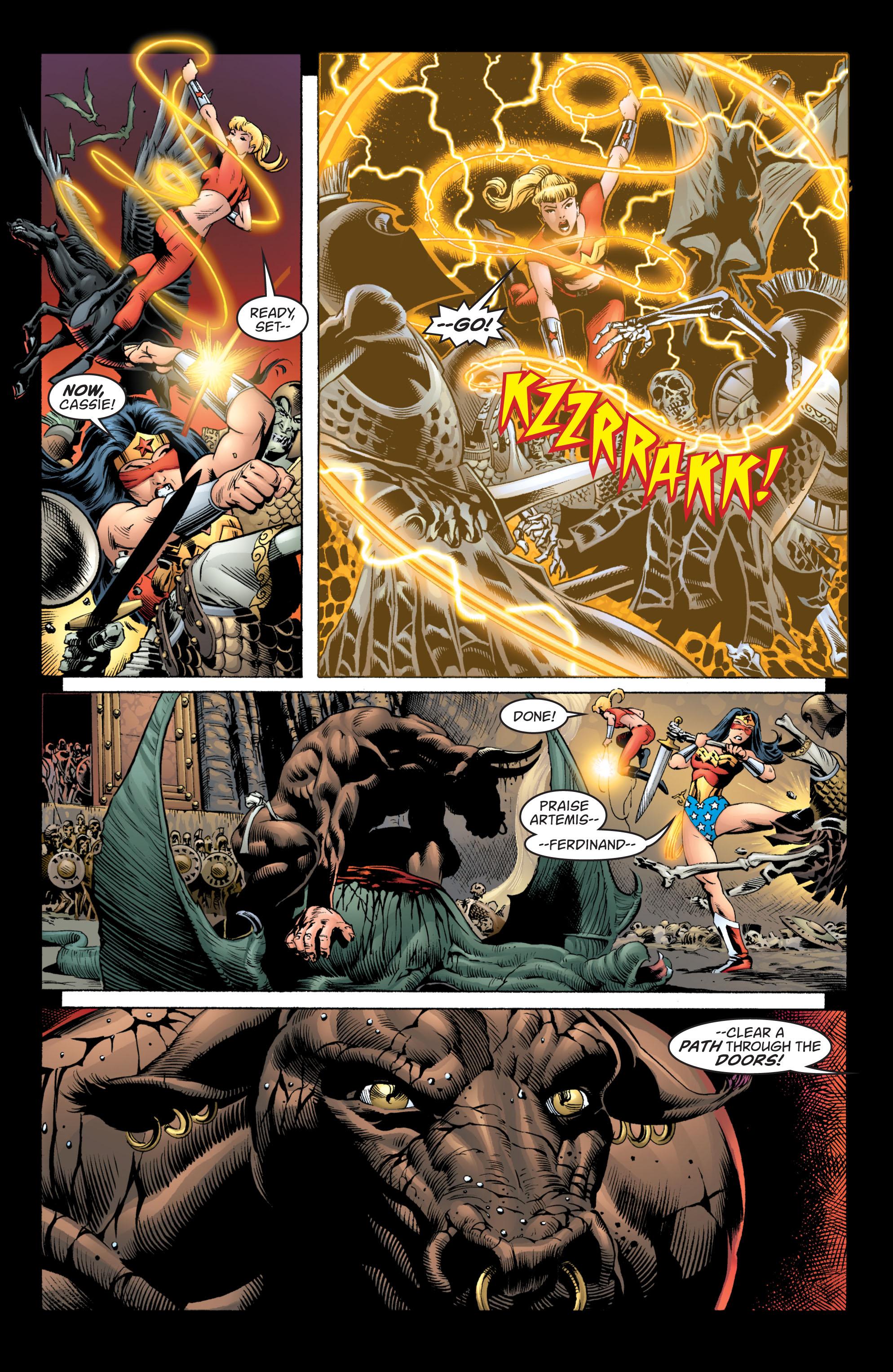Read online Wonder Woman (1987) comic -  Issue #217 - 5