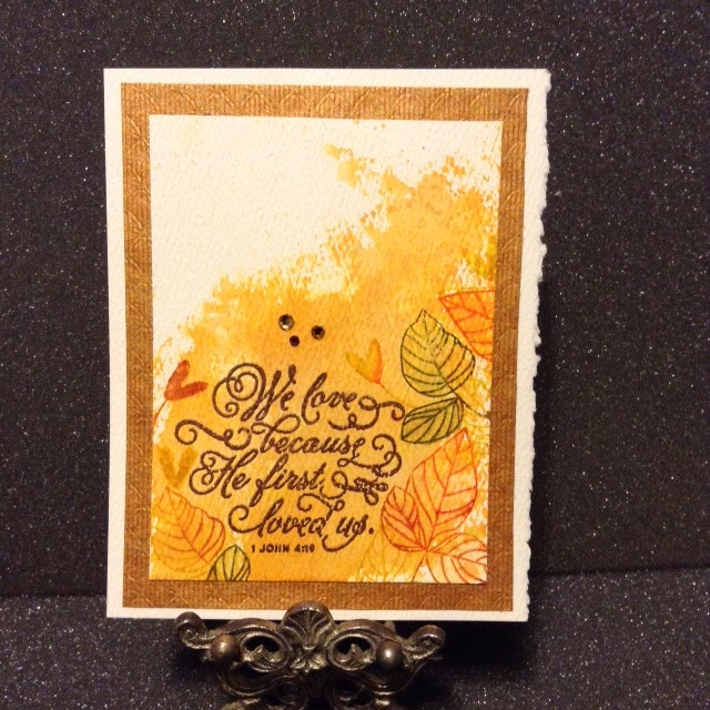 Paperarts cafe simon says stamp cas card Which side does a stamp go on