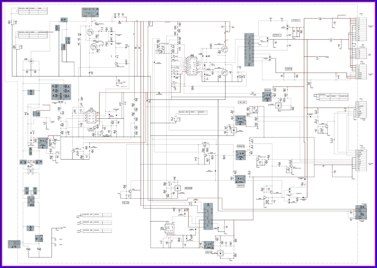 ELECTRONIC EQUIPMENT REPAIR CENTRE : SONY KDL-40VL130