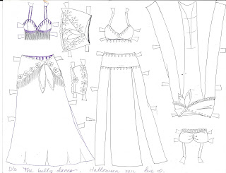 ~PAPER DOLL EVE: A GIRL DREAMS~: D the paper doll belly