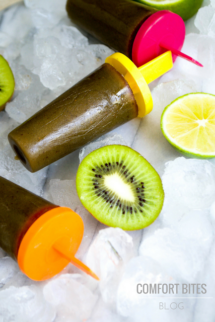 Vital Proteins Collagen Veggie Blend Kiwi and Lime Ice Pops