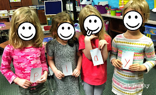 Sight Word Hidden Partners, www.justteachy.blogspot.com