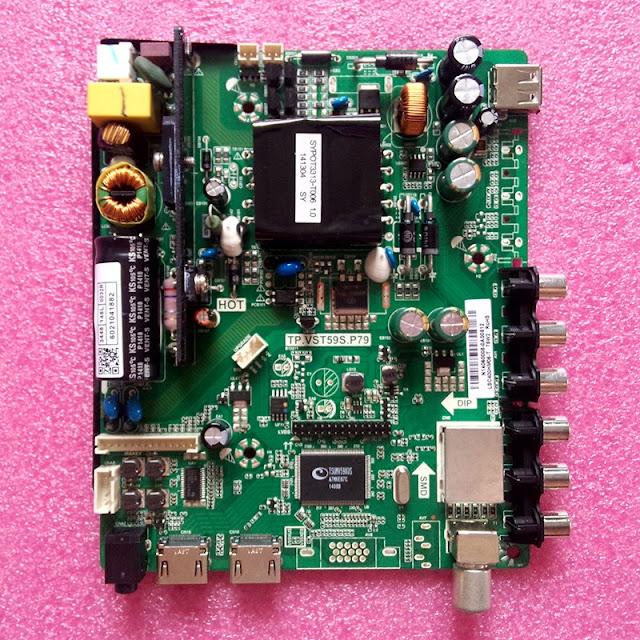TP.VST59S.P79 Universal LED TV Board Software Free Download