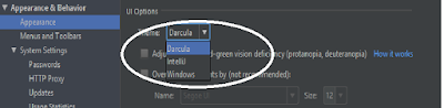 android studio, android studio theme