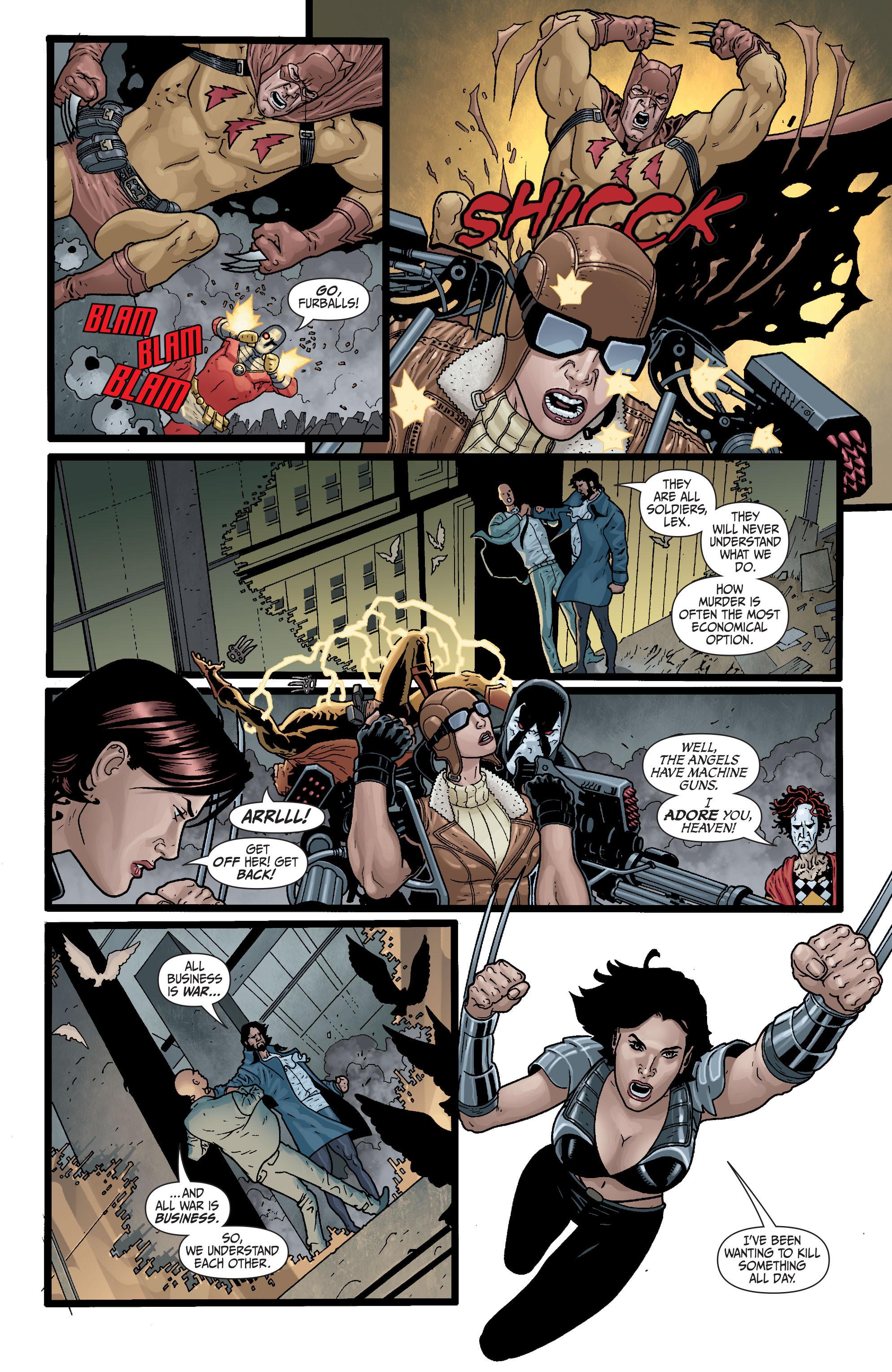 Read online Secret Six (2008) comic -  Issue #29 - 17