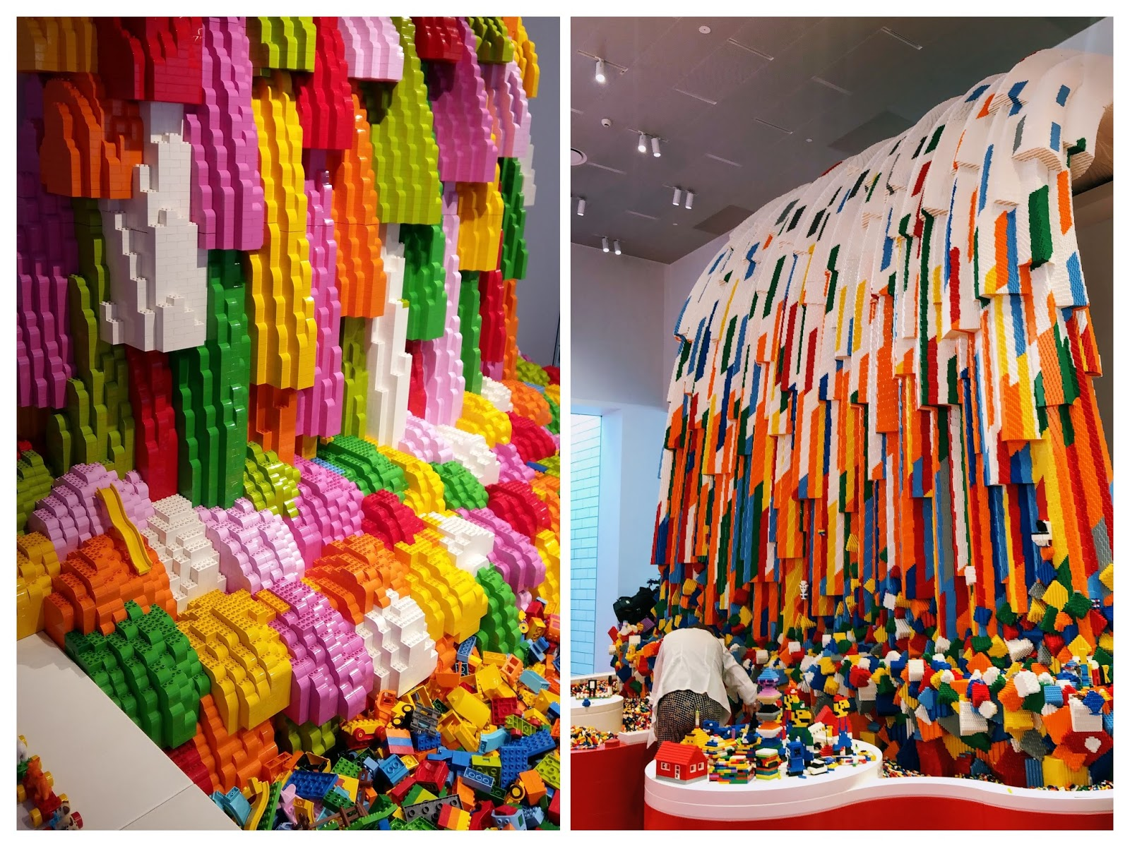 lego house billund rainbow