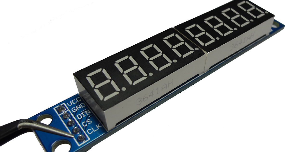 Max7219 7 Segment Display Projects With Pic18f