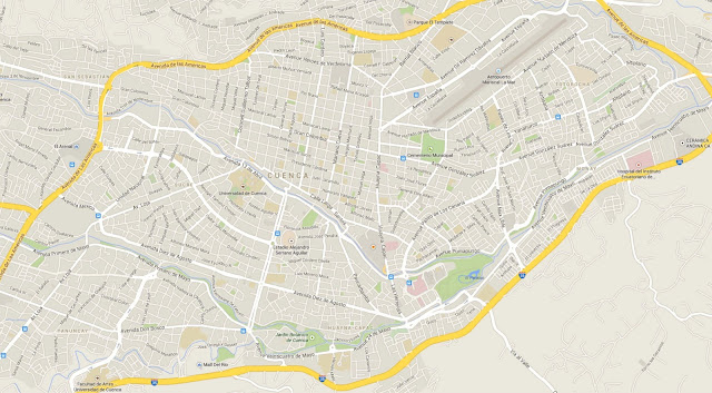 Mapa de Cuenca