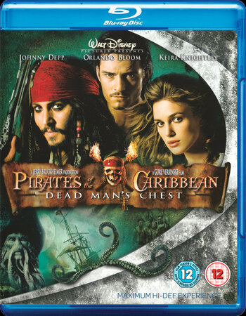 Pirates of the Caribbean: Dead Man's Chest (2006) Dual Audio Hindi 480p BluRay 500MB ESubs
