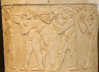 la scintilla divina di enki uruk stone vessel miv pergamonmuseum 07 La scintilla divina di Enki