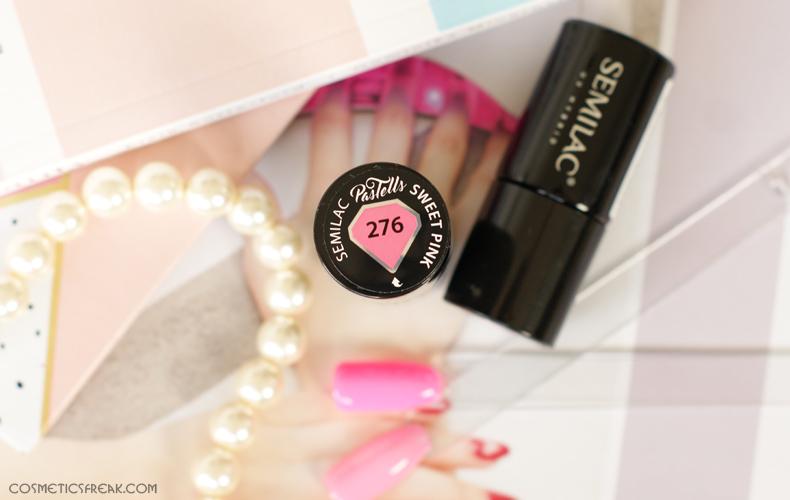 semilac sweet pink 276