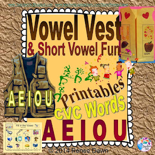Vowel Vest Craft Project and...