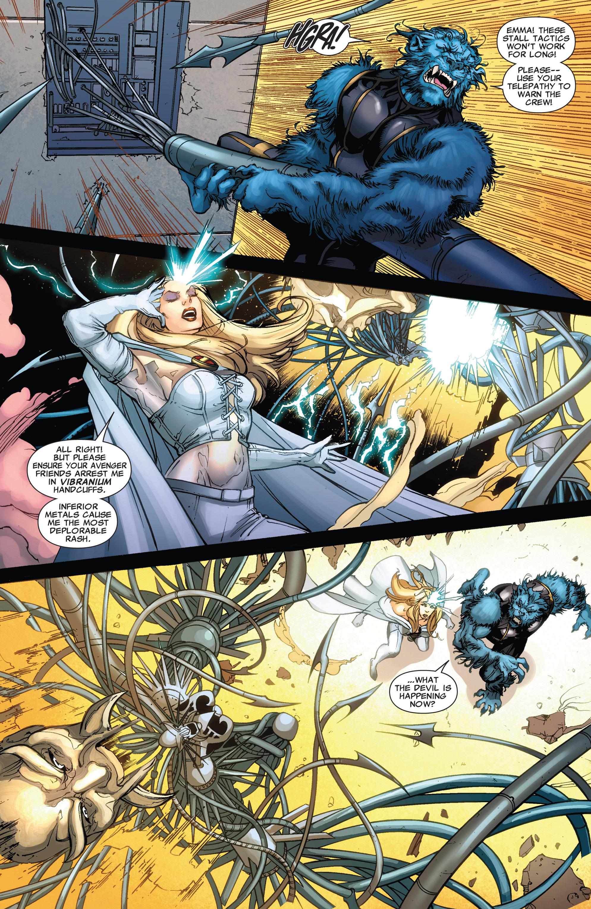 Read online Astonishing X-Men (2004) comic -  Issue #43 - 19