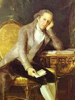 Gaspar Melchor de Jovellanos, by Goya