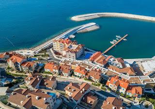 Novootvorena marina i hotel - Luštica Bay